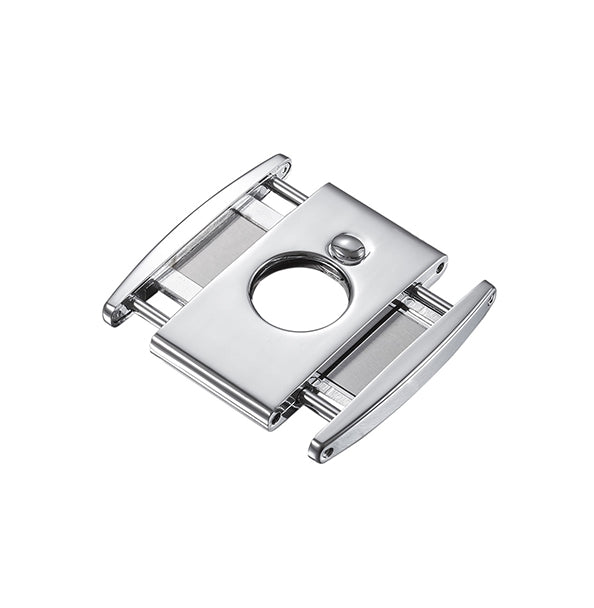 Visol Ryuu Double Guillotine Cigar Cutter - High Polished Chrome