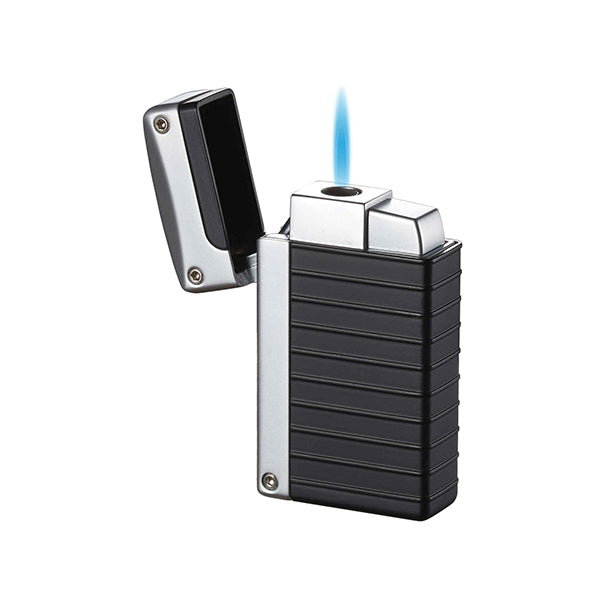 Visol Norfolk Black Matte Torch Flame Lighter