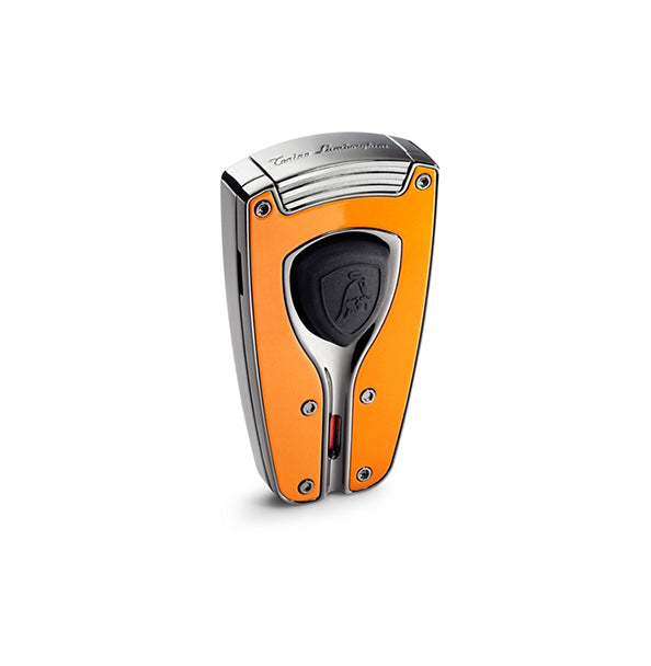 Tonino Lamborghini Forza Orange Lacquer Torch Flame Lighter