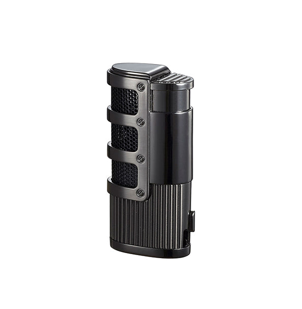 Visol Cato Triple Jet Flame Lighter - Gunmetal