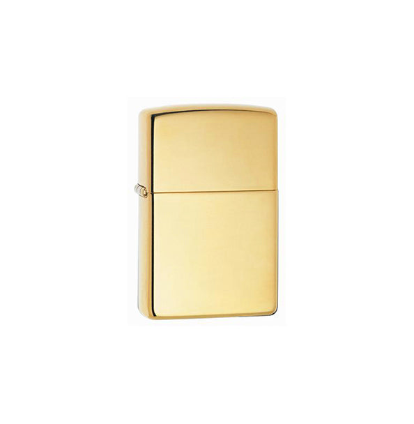 Zippo High Polish Brass Armor Heavy Wall Lighter