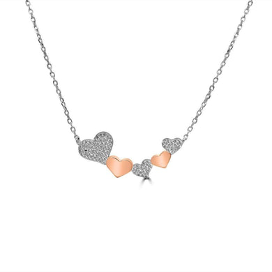 Collier Love Argent - Bijouterie Tropicor
