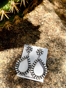 Authentic Teardrop Post Earrings