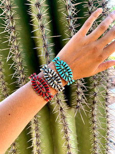 Traditional Native American Cluster Cuffs