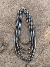 Load image into Gallery viewer, 5mm Navajo Pearl Necklaces-Multiple Lengths