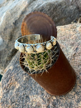 Load image into Gallery viewer, 11 Stone Natural Stone Cuff - 2 Colors