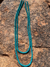Load image into Gallery viewer, Double Strand Rondelle Necklace - 2 Colors