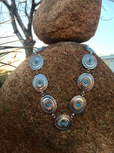 Load image into Gallery viewer, Concho Necklace - 2 Colors