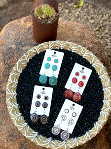 Concho Earring Sets