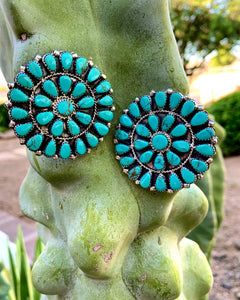 "2"" Large Cluster Earrings"
