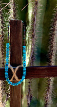Load image into Gallery viewer, Navajo Turquoise Necklace