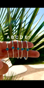 Authentic Turquoise Baby Bracelet - Style 3