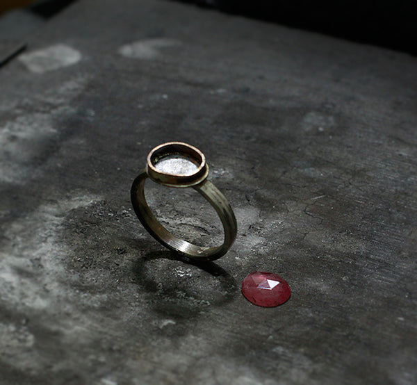 Firescale on unfinished ring