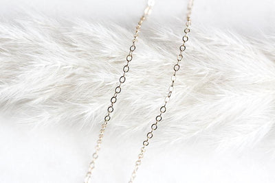14k cable chain 1.3mm Necklaces Andrea Bonelli