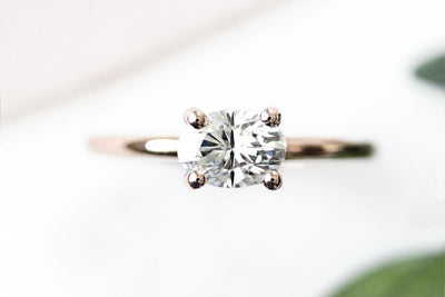isara moissanite ring Moissanite Rings Andrea Bonelli