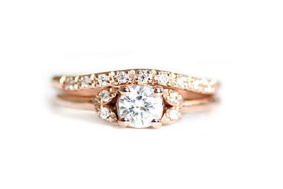 primrose band Moissanite Rings Andrea Bonelli