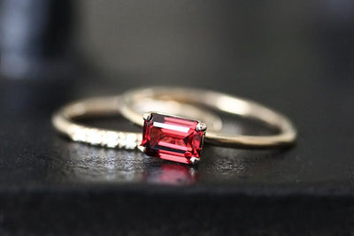 bella garnet ring Gemstone Rings Andrea Bonelli