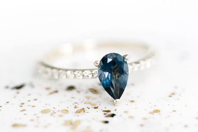 annalise london blue topaz ring Gemstone Rings Andrea Bonelli Jewelry