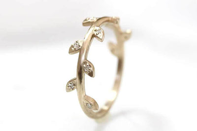 vine diamond ring Diamond Rings Andrea Bonelli Jewelry