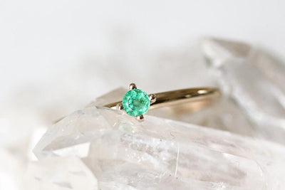 petit lola emerald ring Gemstone Rings Andrea Bonelli