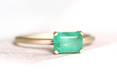 bella emerald ring Gemstone Rings Andrea Bonelli