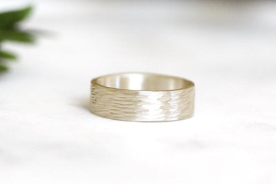 rustic birch band Bands Andrea Bonelli Jewelry