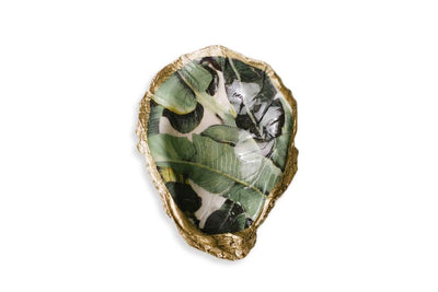 Banana Leaf Oyster Shell Grit & Grace Studio