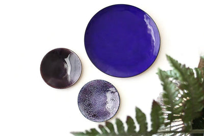 plum enamel ring dish Jewelry Dishes Andrea Bonelli Jewelry
