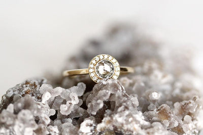 eva salt and pepper diamond ring Sold Andrea Bonelli