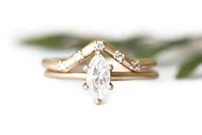 mia marquise moissanite ring Moissanite Rings Andrea Bonelli Jewelry