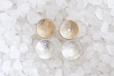silver starburst studs Earrings Andrea Bonelli