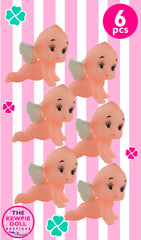 Kewpie Dolls Angel Crawl Pack of 6