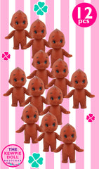 Kewpie Dolls Brown Standing Pack of 12