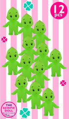 Kewpie Dolls Green Standing Pack of 12