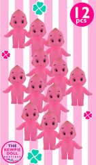 Kewpie Dolls Pink Standing Pack of 12