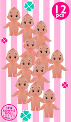 Mini Kewpie Dolls 5cm Standing Pack of 12