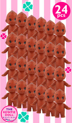 Kewpie Dolls Brown Standing Pack of 24