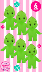 Kewpie Dolls Green Standing Pack of 6