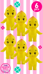 Kewpie Dolls Yellow Standing Pack of 6