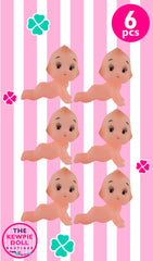 Kewpie Dolls Crawling Pack of 6