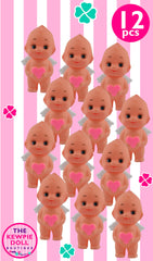 Kewpie Dolls Angel Standing 5cm Pink Heart Pack of 12