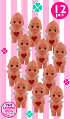 Kewpie Dolls Angel Standing 5cm Red Heart Pack of 12