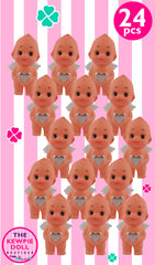 Kewpie Dolls Angel Standing 5cm Silver Heart Pack of 24