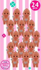 Kewpie Dolls Angel Standing 5cm White Heart Pack of 24