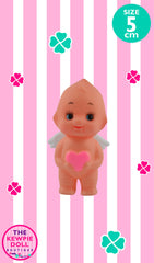 Kewpie Dolls Angel Standing 5cm with Pink Heart