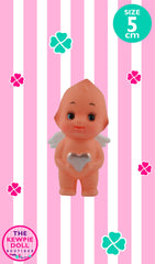 Kewpie Dolls Angel Standing 5cm with Silver Heart