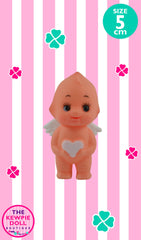 Kewpie Doll Angel Standing 5cm with White Heart
