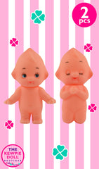 Tiny Kewpie Dolls Standing and Praying 3cm Pack of 2