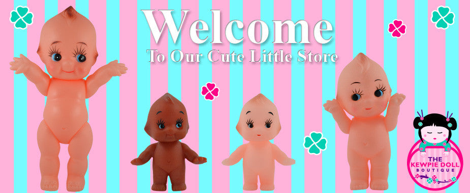 Coloured Kewpie Dolls