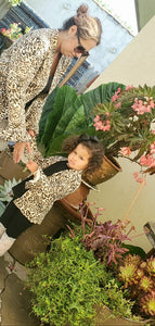 Cheetah Mommy and Me cardigans